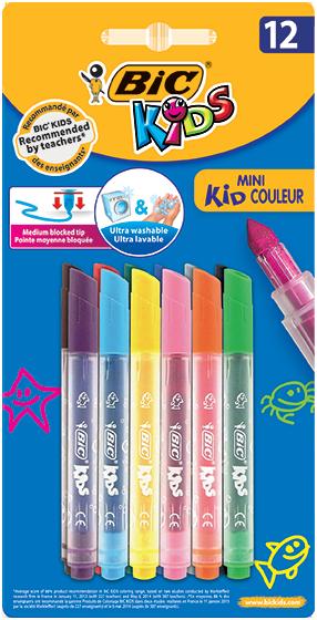 MINI KID COULEUR felt pens
